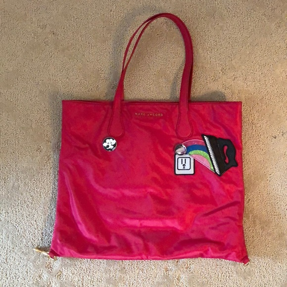 a2f8d8682df Marc Jacobs Bags | Nylon Red Wingman Tote Rainbow | Poshmark